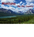 Montana Big Sky Country / UK-Version (Poster Book DIN A3 Landscape) - Del Luongo Claudio