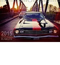US MUSCLE CARS PLYMOUTH WANDKALENDER - Reiner Silberstein