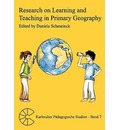 Research on Learning and Teaching in Primary Geography - Daniela Schmeinck