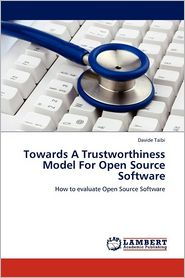 Towards a Trustworthiness Model for Open Source Software