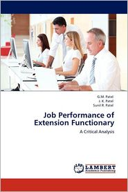 Job Performance Of Extension Functionary