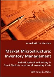 Market Microstructure: Inventory Management