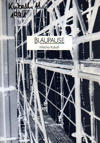 Mischa Kuball: Blaupause (with signed letter)