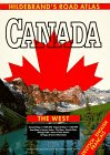 Hildebrand's Road-Atlas Canada, The West (USA & Canada - road atlases) - Collectif