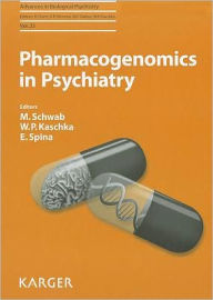 Pharmacogenetics in Psychiatry - M. Schwab