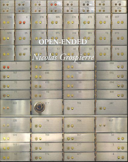 Open-ended. Text ed. by Michael Lacoy and Joanna Osiewicz-Lorenzutti. Transl. by Agnieszka Le Nart] - Grospierre, Nicolas