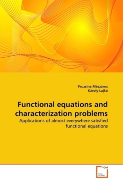 Functional Equations and Characterization Problems: Applications of almost everywhere satisfied functional equations