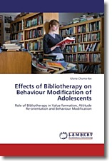 Effects of Bibliotherapy on Behaviour Modification of Adolescents - Chuma-Ibe, Gloria