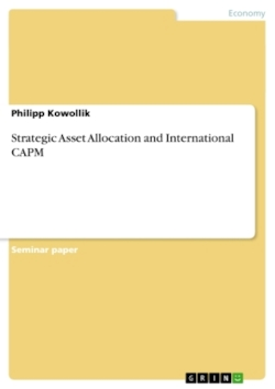 Strategic Asset Allocation and International CAPM