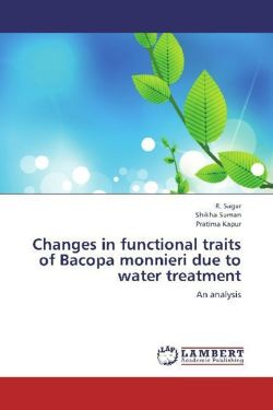 Changes in functional traits of Bacopa monnieri due to water treatment