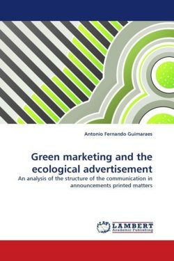 Green marketing and the ecological advertisement - Guimaraes, Antonio Fernando