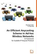 An Efficient Anycasting Scheme in Ad-hoc Wireless Networks