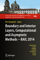 Boundary and Interior Layers, Computational and Asymptotic Methods - BAIL 2014 - Petr Knobloch