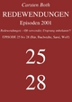 Redewendungen: Episoden 2001 - Carsten Both