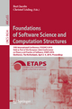Foundations of Software Science and Computation Structures - Bart Jacobs; Christof Löding