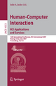 Human-Computer Interaction. HCI Applications and Services - Julie A. Jacko