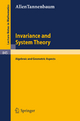 Invariance and System Theory - Allen Tannenbaum