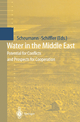 Water in the Middle East - Waltina Scheumann; Manuel Schiffler