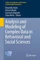 Analysis and Modeling of Complex Data in Behavioral and Social Sciences - Donatella Vicari;  Donatella Vicari;  Akinori Okada;  Akinori Okada;  Giancarlo Ragozini;  Giancarlo Ragozini;  Claus Weihs;  Claus Weihs
