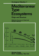 Mediterranean Type Ecosystems - Francesco Di Castri; Harold A. Mooney