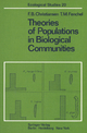 Theories of Populations in Biological Communities - Freddy Bugge Christiansen; Tom M. Fenchel