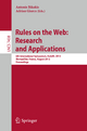 Rules on the Web: Research and Applications - Antonis Bikakis; Adrian Giurca