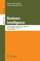 Business Intelligence - Marie-Aude Aufaure; Esteban Zimányi