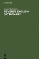 Reverse English Dictionary - Gustav Muthmann