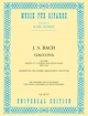 Ciaccona (from BWV 1004) for Guitar - Johann Sebastian Bach; Karl Scheit