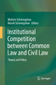 Institutional Competition between Common Law and Civil Law - Michèle Schmiegelow; Henrik Schmiegelow