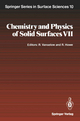 Chemistry and Physics of Solid Surfaces VII - Ralf Vanselow; Russell F. Howe