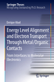 Energy Level Alignment and Electron Transport Through Metal/Organic Contacts - Enrique Abad