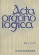 Acta Organologica - Alfred Reichling