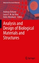 Analysis and Design of Biological Materials and Structures - Andreas Oechsner;  Lucas F. M. da Silva;  Holm Altenbach