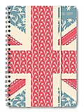 Collegetimer A5 Union Jack 2016/2017