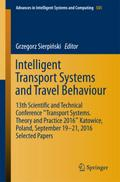 Intelligent Transport Systems and Travel Behavior