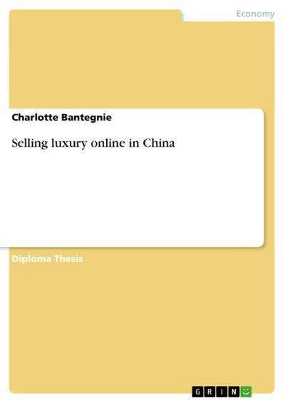 Selling luxury online in China - Charlotte Bantegnie