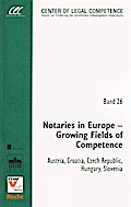 Notaries in Europe - Growing Fields of Competence - Stephan Matyk