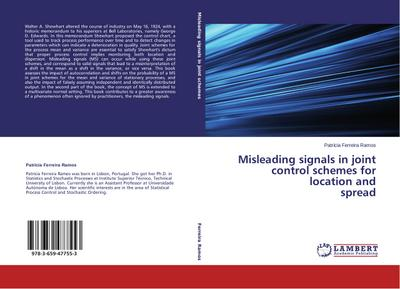 Misleading signals in joint control schemes for location and  spread - Patrícia Ferreira Ramos