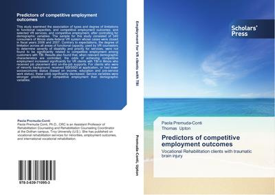 Predictors of competitive employment outcomes - Paola Premuda-Conti