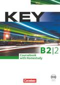 Key B2/2. Kursbuch mit CD und Key/Pocket Teaching Guide - Jon Wright