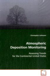 Atmospheric Deposition Monitoring - Christopher Lehmann