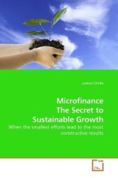Microfinance The Secret to Sustainable Growth - Lorena Chirila