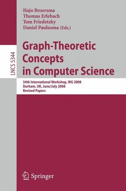 Graph-Theoretic Concepts in Computer Science - Hajo Broersma