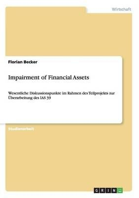 Impairment of Financial Assets - Florian Becker