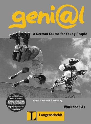 Genial A1: A German Course for Young People (German Edition) - Susy Keller; Maruska Mariotta; Theo Scherling